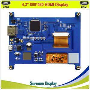 """Image 5 - 4.3 """"4.3 Inch 800*480 Tft Hdmi Usb Capacitieve Touch Panel Lcd Module Display Monitor Scherm Voor Raspberry pi"""