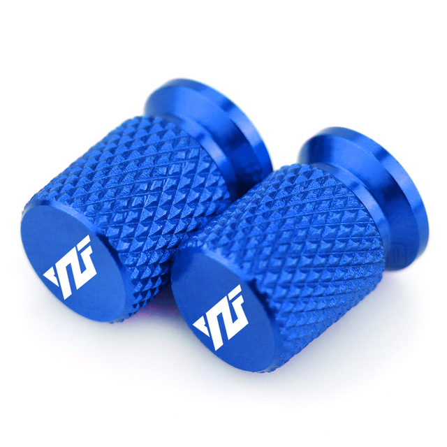 YZF Motorcycle Tire Valve Air Port Stem Cap Cover Plug CNC Aluminum Motorcycle Accessories for Yamaha YZF R3 R25 R6 R1 2013-2019