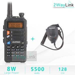 Image 5 - BaoFeng UV 5R Walkie Talkie UV 5R อัพเกรดรุ่น CB วิทยุ Hf Transceiver 8W 10Km UHF VHF walkie Talkies UV 82 UV 9R
