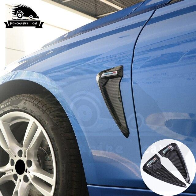 כריש זימי צד פנדר Vent קישוט 3D מדבקות עבור BMW E46 F30 E90 E60 F20 F10 E36 E39 E87 E70 g30 ביצועים רכב סטיילינג