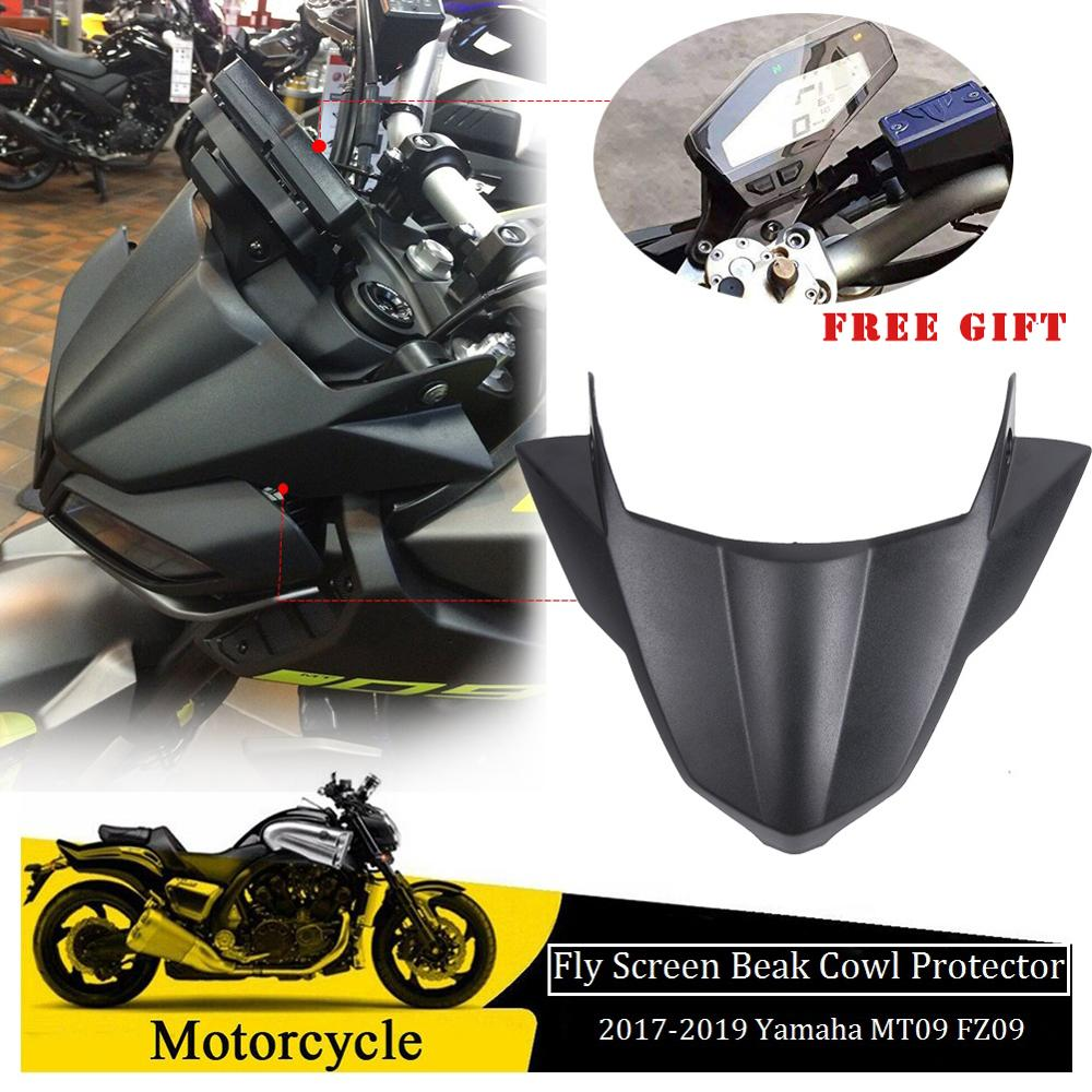Motorcycle ABS plastic Instrument Dash Surround Cover For Yamaha MT-09 FZ-09 New