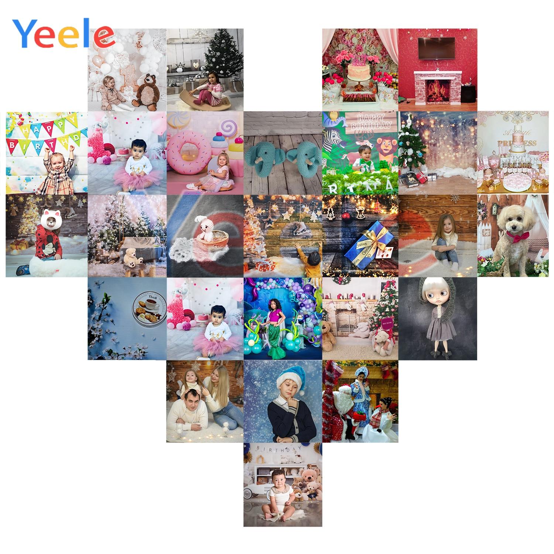 Yeele Vinyl Photophone Pink Beach Tropical Flamingo Summer Photo Backgrounds Photo Backdrops Photocall For Photo Studio Props