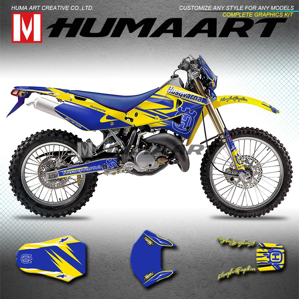Yamaha YZ250 X 2016-2018 Acerbis Front Number Plate YZ Blue Fits