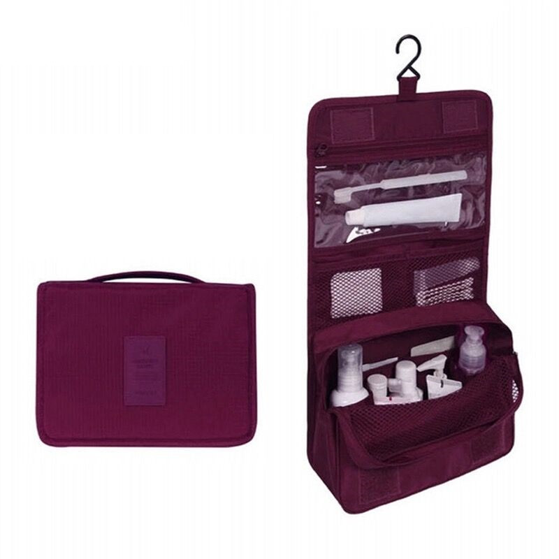 Women Makeup Bag High Capacity Cosmetic Bags Multifunctional Bathroom Storage Bag Personal Toiletry Bag Make Up Pouch