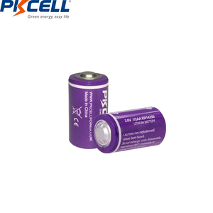 Image 3 - 10PCS/lot PKCELL 1/2 AA Battery 3.6V ER14250 14250 1200mAh LiSOCl2 Lithium Battery Batteries for GPS
