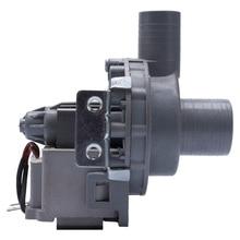 General bomba de drenaje para lavadora, 20W, calibre del motor 24/24mm, piezas de repuesto de reparación de arandela dedicada de cobre completo