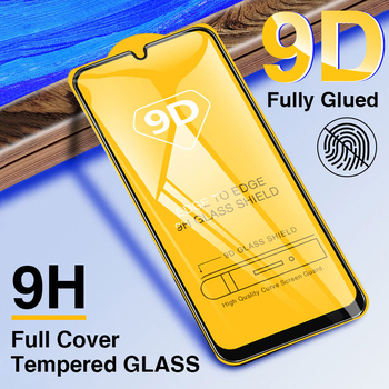 9D Curved Tempered Glass For Samsung M40 M30 M20 M10 S10e S7 Note 5 J2 Plus A2 Core Full Coverage Screen Protective Film 100Pcs