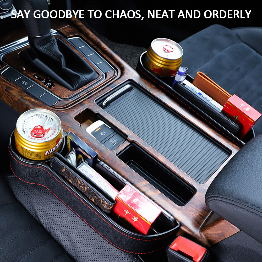 Glove-Compartment Storage-Box Car-Seat-Organizer Multifunctional Seam title=
