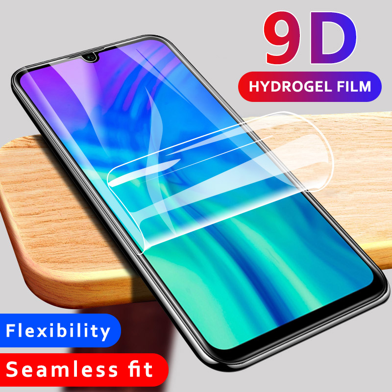 Hydrogel Film For Huawei Y6 Y7 Y9 Pro 2019 Y6 Prime 2018 Full Cover Screen Protector Ultra Thin Soft Protective Film No Glass