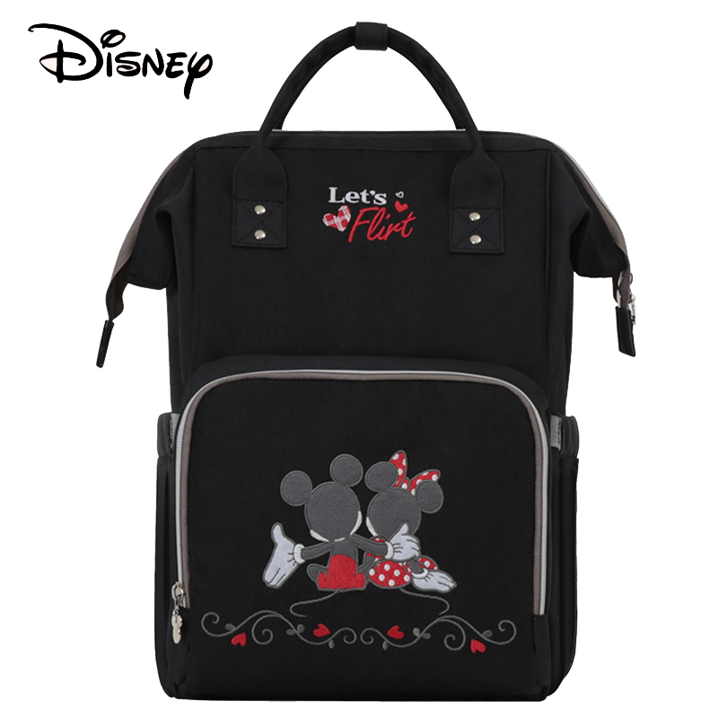 Disney Diaper Bag Usb Baby Care Travel Backpack For Mom Mummy Maternity Wet Bag Waterproof Nappy Stroller Boy Bag Organizer