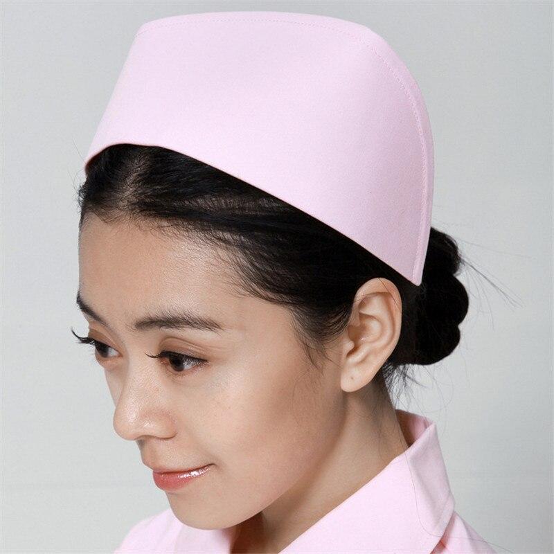 New Occupation Nurse Hat Medical Staff White Nurse Cap Female Medical Doctor Hat Hospital Dentist Work Caps High Quality