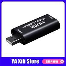 1080p hdmi usb 20 карта захвата видео потоковое записывающее