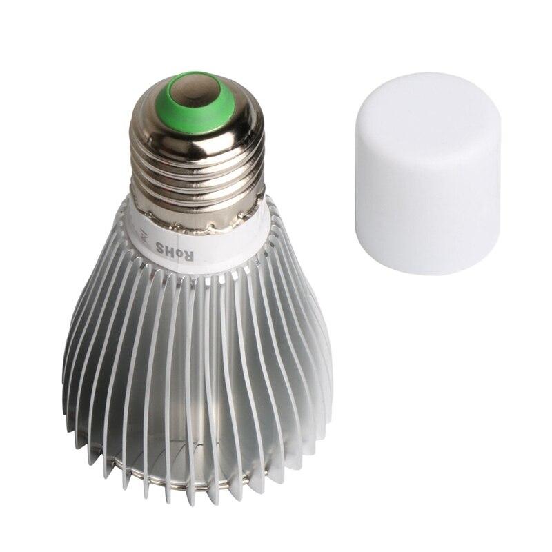 Led Grow Light Bulb, Led Plant Bulb Full Spectrum Grow Lights For Indoor Plants Vegetables And Seedlings, LED Plant Light Bulb F
