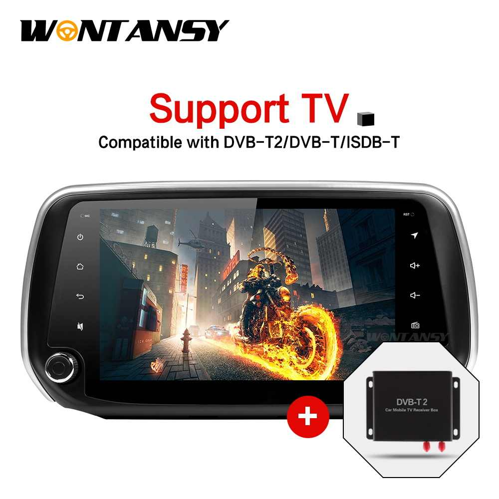 Nieuwe Android 9.0 PX30car dvd voor Hyundai Santa Fe met radio stereo gps navigatie auto stereo video media player