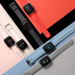 Image 4 - Reloj inteligente Huami Amazfit GTS para nadar, reloj inteligente con GPS, control del ritmo cardíaco, resistente al agua hasta 5atm