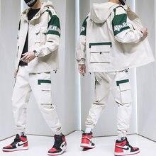Осень 2020 мужской уличная одежда спортивный костюм куртка с