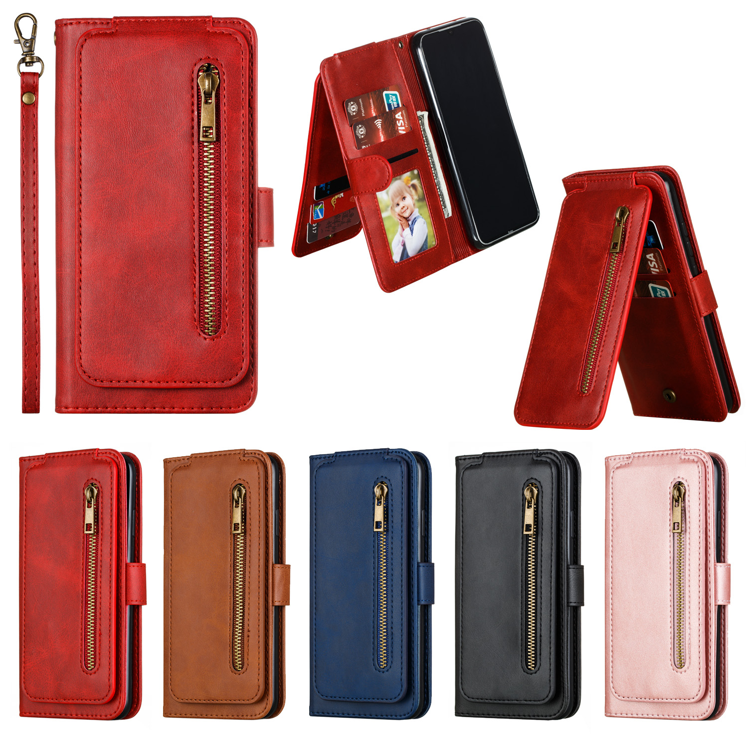 Cover For Xiaomi Redmi 7A <font><b>8</b></font> 8A K20 K20 Pro Note 7 7 Pro <font><b>8</b></font> <font><b>8</b></font> Pro Case PU Coque For Xiaomi Mi 9T 9T Pro CC9e A3 Case Cover Capa image