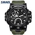 Армейские часы  брендовые цифровые часы с подсветкой  мужские часы  военные светодиодный наручные часы 1545C  военные часы  мужские водонепрон...