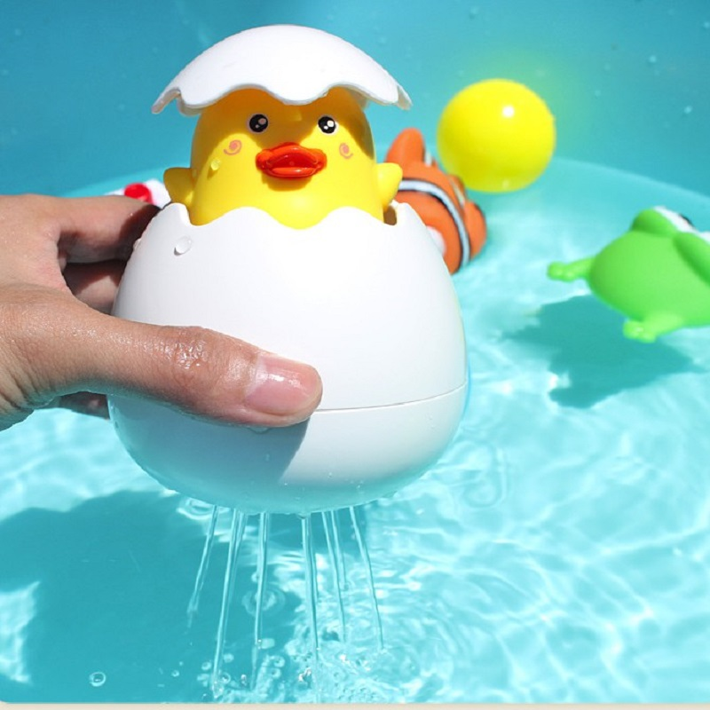Montessori Toys Children Bathing Ducklings Baby Shower Sprinkler Toys Fall In Love With Bathing