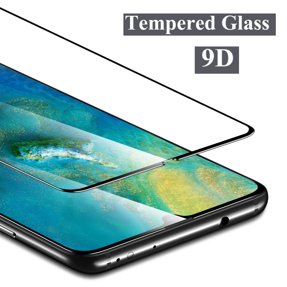 9D Tempered Glass For Huawei P Smart Z Y6 Y9 2019 Screen Protector Y5 Y9 Y7 2019 Y6 2018 Nova 3 3i Full Cover Protective Film  9