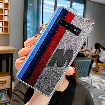 Blue Red Car for Bmw Phone Case For Samsung S6 S7 S7 edge S8 S8 Plus S9 S9 Plus S10 S10 plus S10 E(lite) image