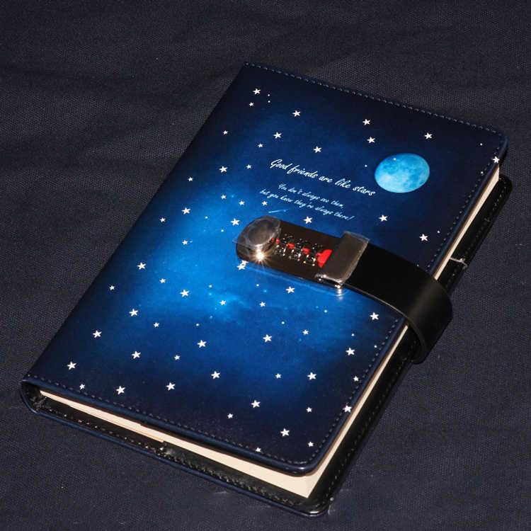 Mariyana New Diary Notebook With Lock Code Password 144 Sheets