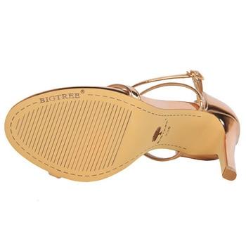 Buckle Strap High Heeled Sandals  5