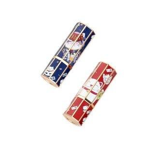 Image 5 - الرخام أنبوب أحمر شفاه 12.1 مللي متر Diy بها بنفسك الشفاه بلسم أنابيب محلية الصنع الشفاه عصا الجمال أحمر الشفاه عبوات بلسم فارغة التجميل عيد ميلاد ماكياج