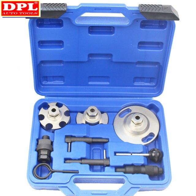 Motor zamanlama eksantrik kilitleme hizalama kaldırma onarım aracı için Touareg Audi A4/VAG2.7 ve Q7/3.0 otomatik garaj araçları
