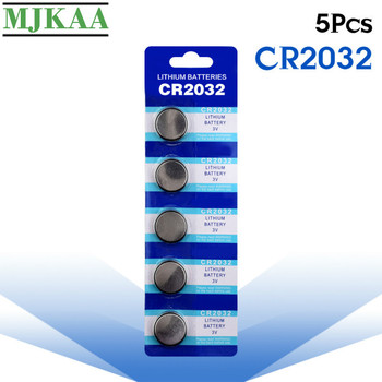 5PCS CR2032 Button Batteries BR2032 DL2032 ECR2032 Cell Coin Lithium Battery 3V CR 2032 For Watch Electronic Toy Remote image