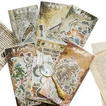 60 sztuk/paczka Vintage przeszłość wydarzenie japoński stacjonarny notatnik dziesięć wzorów naklejki do dekoracji pokoju