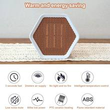 1000 Вт Портативный электрический настольный нагреватель Вентилятор