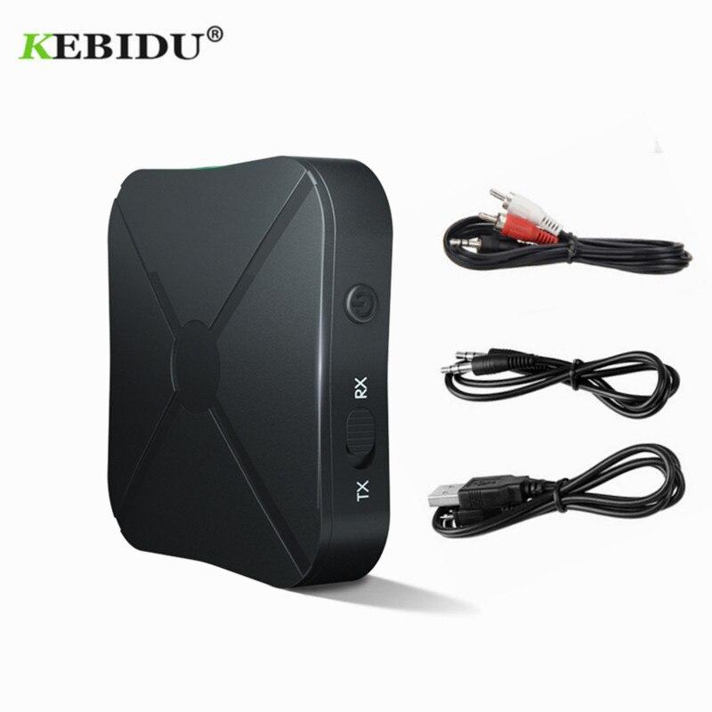 KEBIDU KN319 Bluetooth 4,2 приемник передатчик 2 в 1 беспроводной Bluetooth адаптер аудио с 3,5 мм AUX аудио для домашнего ТВ MP3 ПК