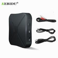 Kebidu KN319 bluetooth 4.2 レシーバトランスミッタ 2 1 ワイヤレス bluetooth アダプタでオーディオと 3.5 ミリメートル aux オーディオ家庭用テレビ MP3 pc