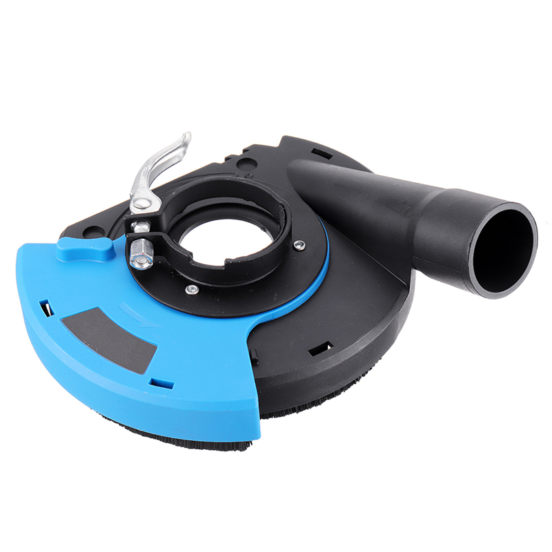 7 Inch Angle Grinder Dust Shroud Cover Tools For Concrete Marble Granite Engineered Stone Grinding Dust Collection Durable