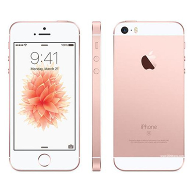 """Original Unlocked Apple iPhone SE 4G LTE Mobile Phone iOS 4.0""""12.0MP Touch ID Chip Dual Core A9  2G RAM 16/64GB ROM  Smartphone 4"""