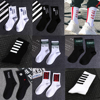 Cotton Men Socks Graphic Striped No Money More Letters Women Cotton Hot Fashion Hip-Hop Solid Sport Street Casual Long Sock