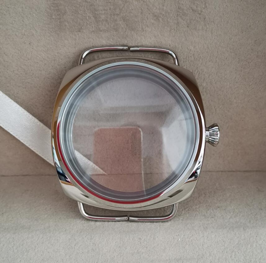 High-quality polishing Watch case 316L stainless steel 47mm Watch case Suitable for refitting /assembling watch G029