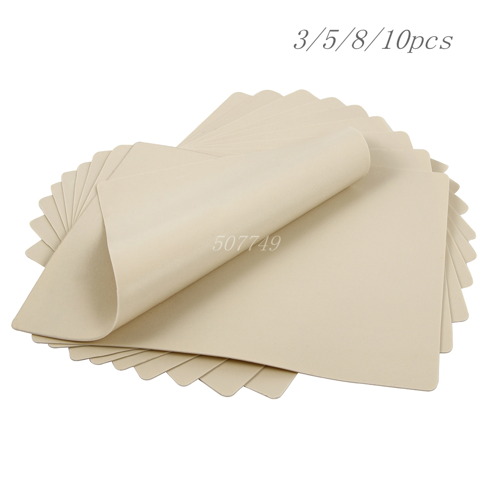3/5/8/10/15pcs 20x15cm Tattoo Practice Skin Synthetic Blank Tattoo Practice Skin Sheet For Needle Machine Supply Drop Shipping