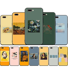 Great art aesthetic van Gogh Mona Lisa David-love Silicone Case for OPPO R17 F11 F9 Pro A77 R9s F9 F7 A73 A83 A59 A39 A5 K3 K5(China)