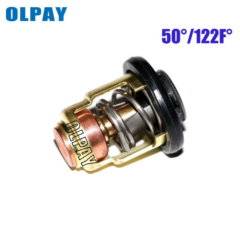 Boat Engine Thermostat 6E5-12411 688-12411 6H3-12411 For Yamaha 2 Stroke 15HP 25HP 30HP 40HP-250HP Outboard