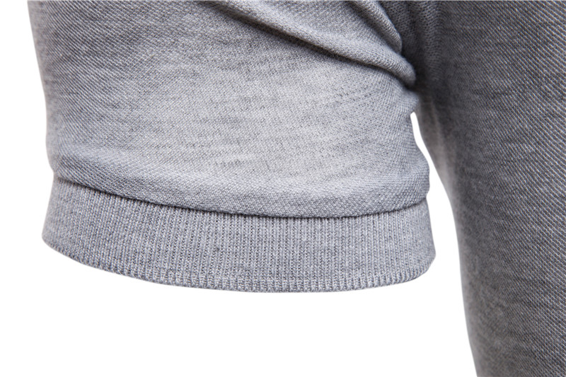 Dropshipping 2019 New Polo Shirt Men Solid Casual Cotton Polo Giraffe Men Slim Fit Embroidery Short Sleeve Men's Polo 10 Colors 5
