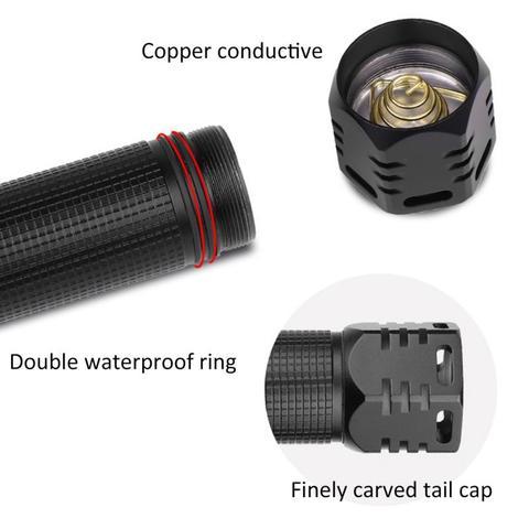 pratico lanterna p90 zoom xhp90 led brilho