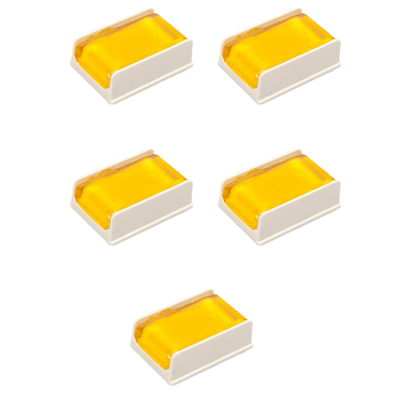 5PCS White Bow Rosin Greek Pitch Friction-Increasing Rosin For Violin Viola Cello Bow String Instrument Durable