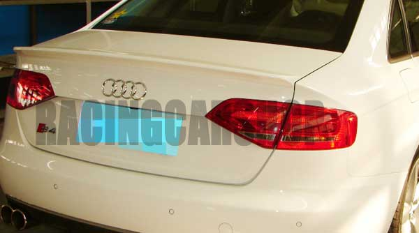 PAINTED  RS4 TYPE TRUNK LIP SPOILER Fit For AUDI A4 B8 2008-2012  A020F