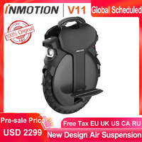 Presell INMOTION V11 Unicycle Air suspension 84V 2000W Self Balance Scooter Electric Build in Handle Monowheel Hoverboard