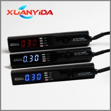 Xuanyida-Temporizador Turbo automático Universal, pantalla LED Digital NA y Turbo, luz led azul (rojo/azul/blanco) con logo modificado, Devic