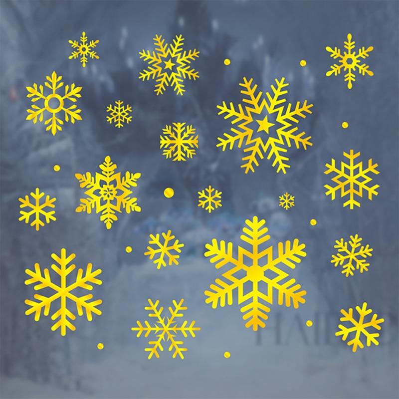 Веселого Різдва наклейки на вікна - Святкові та вечірні предмети - фото 6