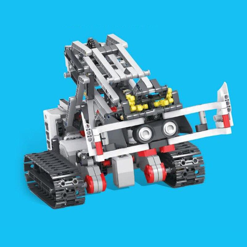 Image 4 - EV3 EV6 Compatible with 45544 Science education Building Block Robot Creative programming intelligent APP Program Toy gifsBlocks   -