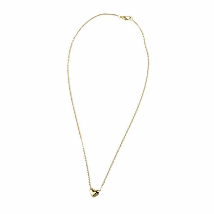 ファッションチャームファインシンプルスモールネックレス女性のハートクリスタルローズゴールド Pat 変換ペンダント NecklaceJewelry